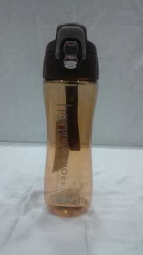 Plastic Flip Top Sipper Bottle