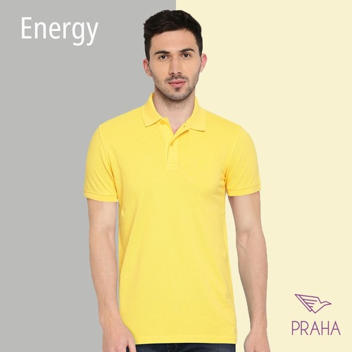 Polyester Plain Polo T-shirts