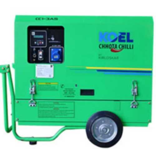 Portable Diesel Silent Generator