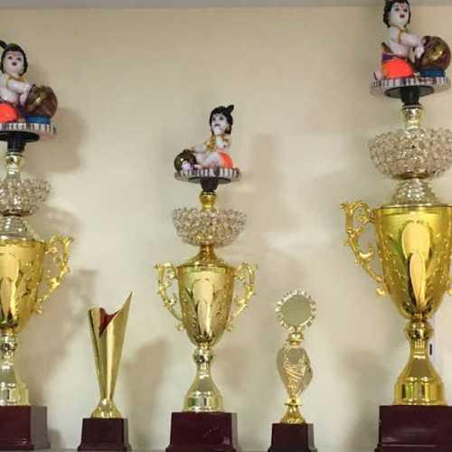 Printed Round Designer Trophy