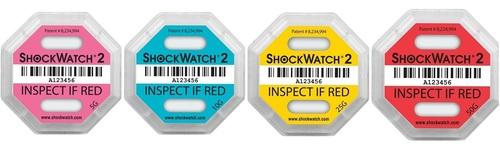 ShockWatch Labels Impact Indicators