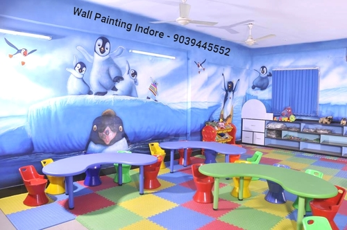 Wall Painting Artist Services for School