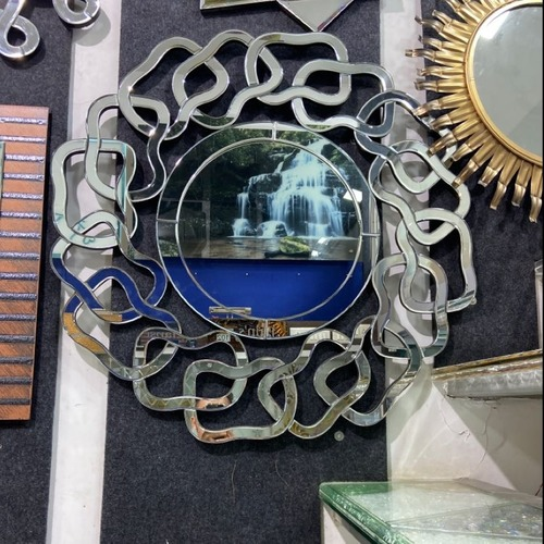 Wall Round Glass Mirror