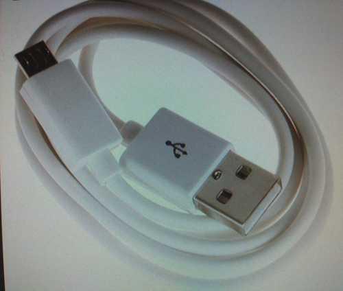 White Color Data Cable