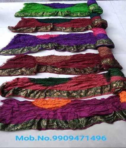 Wholesale Price Bandhej Silk Saree