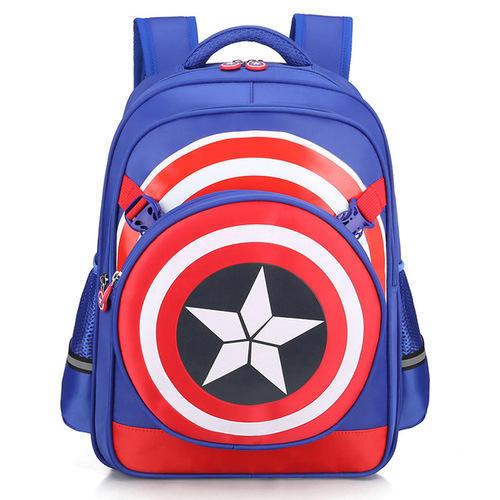 Adjustable Strap School Backpack
