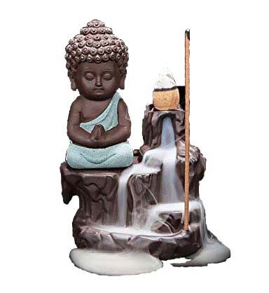 Back Flow Cone Burner Buddha