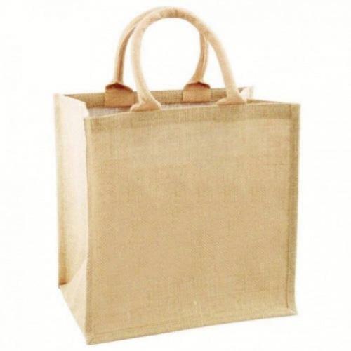 Brown Color Jute Bag