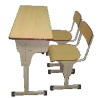 Double Seater School Classroom Furniture