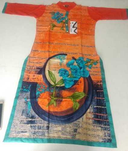 Floral Print Designer Kurti