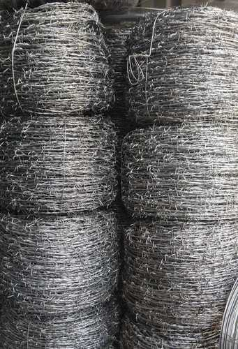 Grey Color Barbed Wire