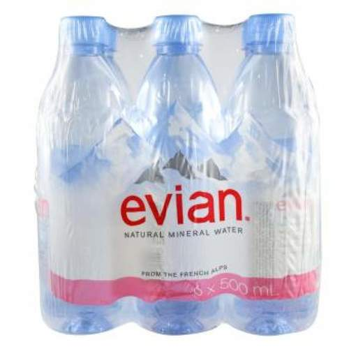 High Quality Evian Natural Mineral Water