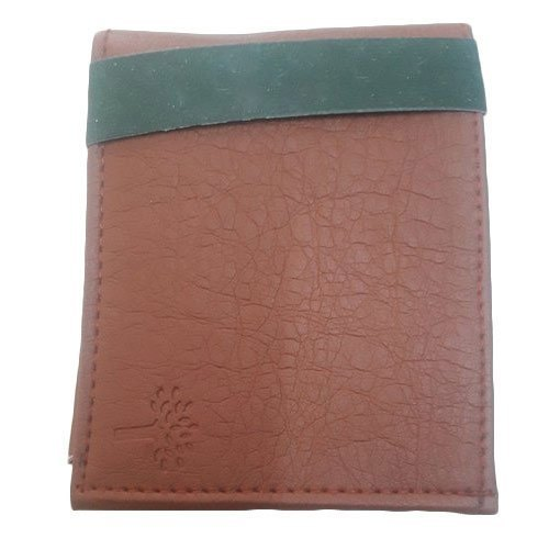 Brown Impeccable Finish Mens Leather Wallets