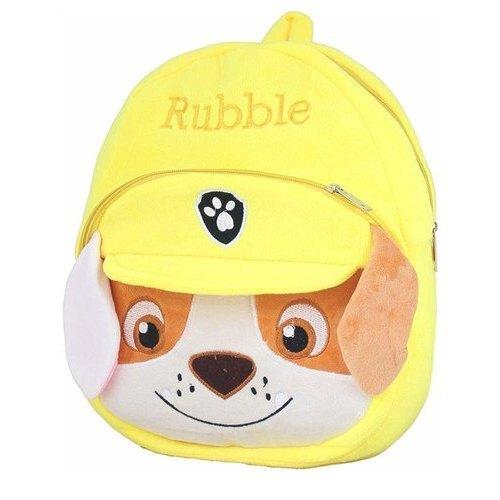 Kids Rubble Soft Toy Bag