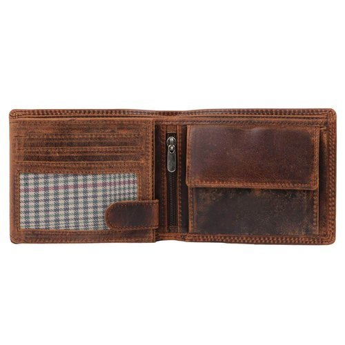 Brown Lightweight Mens Leather Wallets