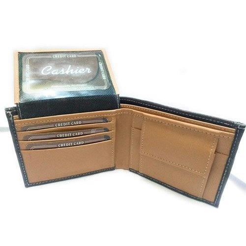 Mens Foldable Leather Wallets