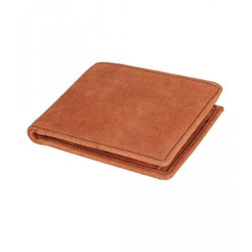 Mens Tan Leather Wallet