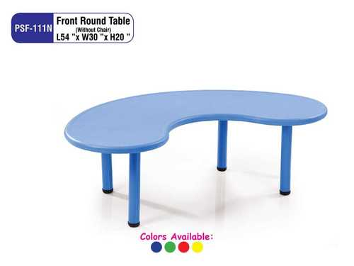 Play School Front Round Table