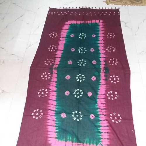 Printed Cotton Bandhej Dupatta