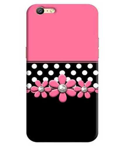 Printed Pink Color Mobile Covers