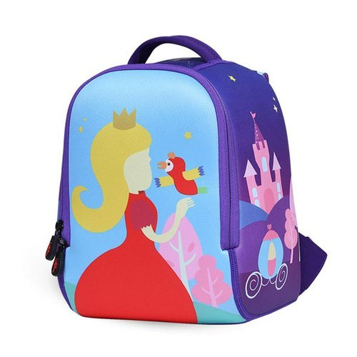 Printed Polyester School Bag