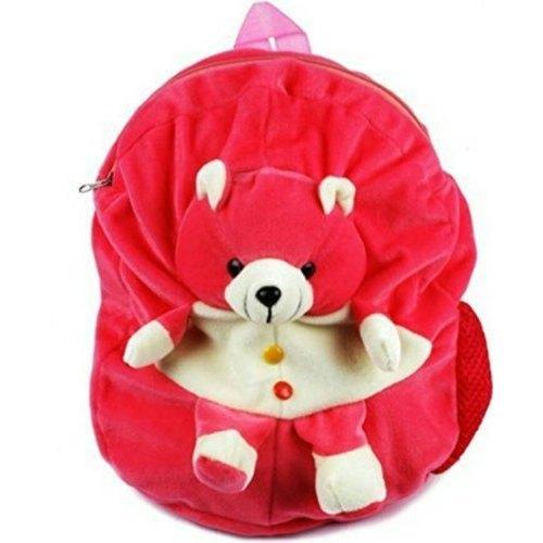 Red Teddy Bear Soft Bag