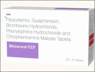 Rhinorest-CCF Tablets