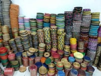 Single Sided Jacquard Lace, Roll Length: 50 meter