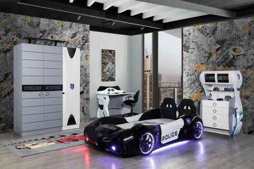 Stylish Police Car Bed