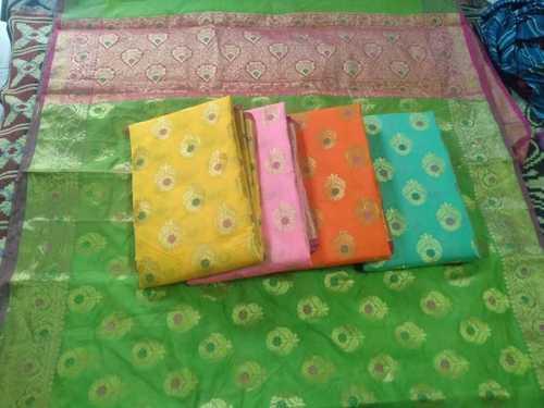 Banarasi Contrast Cotton Saree