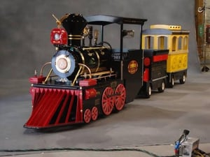 Battery Operated Park Trackless Train