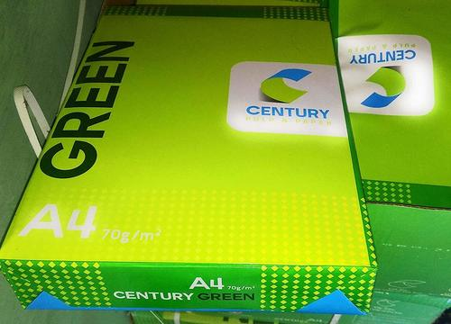 Century Green 70 Gsm Great Quality A4 Copy Paper