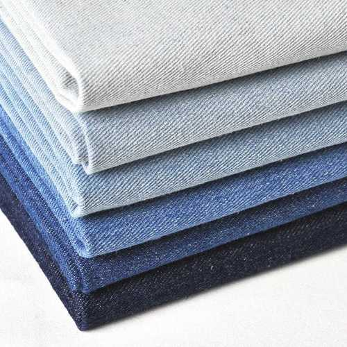 Comfortable Multi Color Cotton Denim Fabric