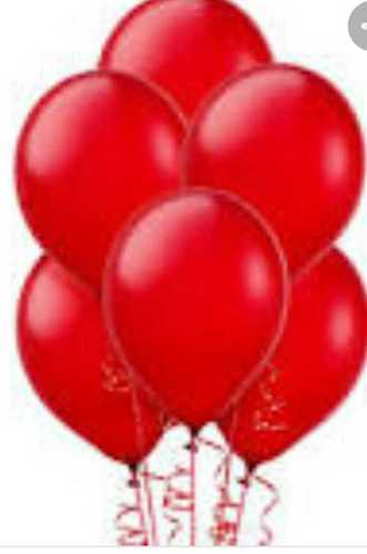 Customized Red Color Balloon
