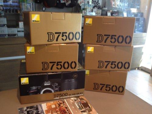 D7500 DSLR Camera (Nikon)