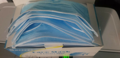 Disposable Nonwoven 3Ply Surgical Face Mask For Medical, Hospital Use