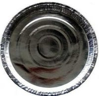 Disposable Round Silver Paper Plate