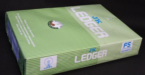 Green Ledger Paper 70 gsm 500 Sheets/Ream
