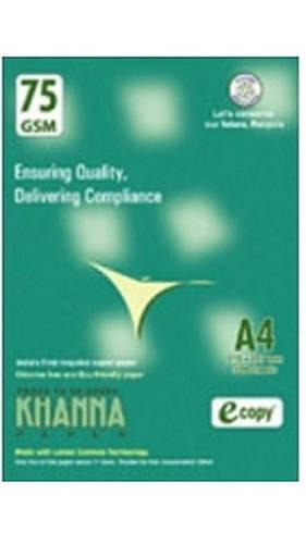 Khanna Copier Paper A4 Size 500 Sheet 75 Gsm