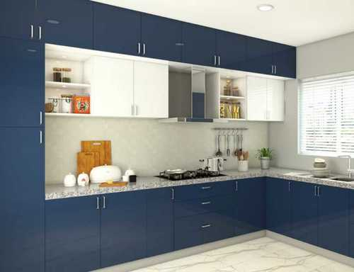 L Shape Modern Modular Kitchen At Price Range 1000 00 1500 00 Inr Square Foot In Gurugram Nif Home Decor Interior