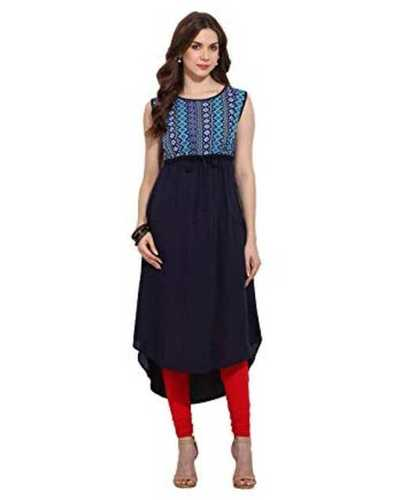 Ladies Full Sleeves Cotton Kurtis