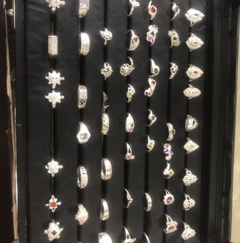 Micro Stone Silver Rings