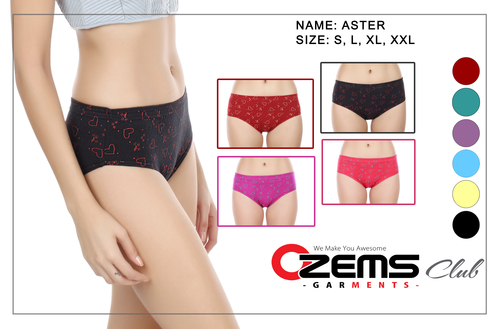 Ozems Club Cotton Panties