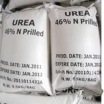 Urea Industrial Prilled Urea, Pack Size : 9.5KG/Bag