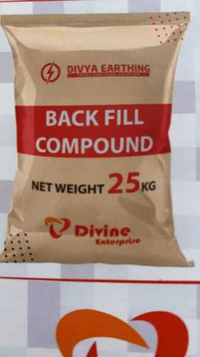 Black Fill Chemical Earthing Compound