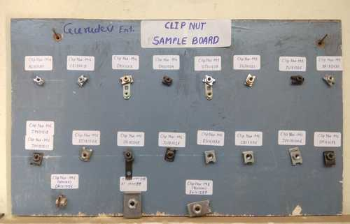 Clip Nut Sample Board