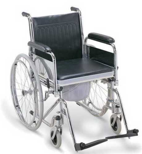 Corrosion Proof Commode Wheel Chair