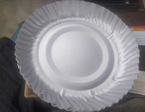 Disposable Paper Round Plate