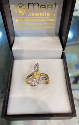 Fancy Designer Gold Ring