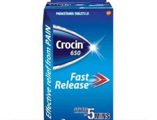 Fast Release Crocin Tablets